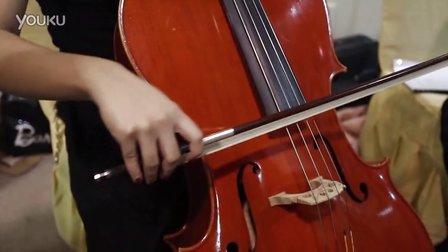 kiwi房博会美女小大提琴合奏