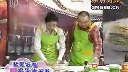 米饭 紫菜饭卷和鸡蛋紫菜卷的做法