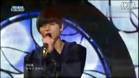 101211 MBC音乐中心2AM -像疯了一样【HD LIVE现场版】
