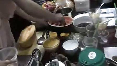 水果捞制作视频-酷巴甜品培训