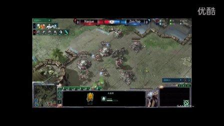 G联赛 星际争霸2 Xiaojue vs ZooTop #1