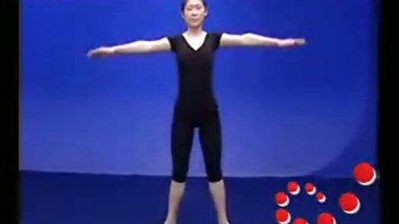 形体礼仪培训视频--肩臂部位