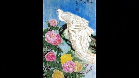 《雷爱祖牡丹国画作品欣赏》