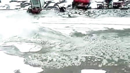 2010年8月9日冰雹情景