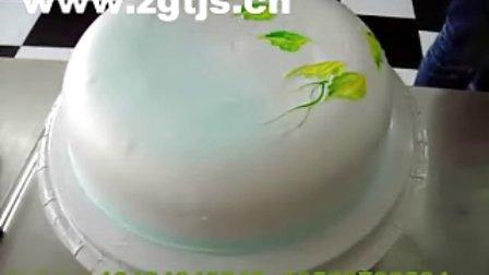 独创彩绘蛋糕制作方法