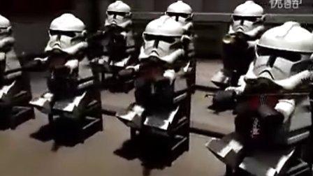 星球大战帝国进行曲(乐高搞笑版)