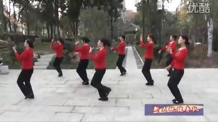 京山广场舞大理三月好风光新大地健身队表演