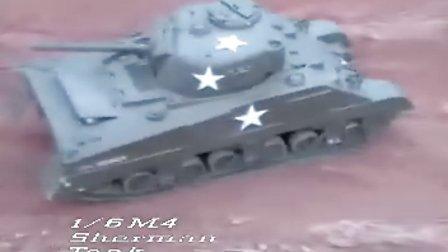 VANTEX威泰模型 - 1:6 M4 Sherman Tank GP - 油动M4谢尔曼坦克