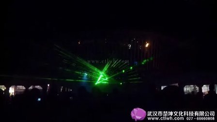 楚坤文化科技案例-恩施广电车展激光秀027-66660808