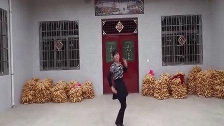 武功县望人腰雪梅广场舞(小妹听我说)