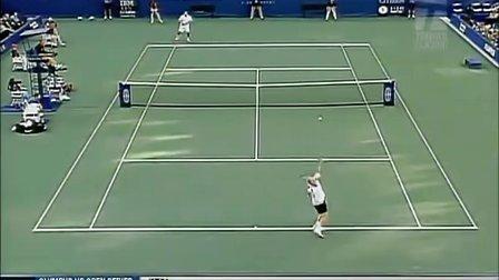 2002美国网球公开赛男单决赛 桑普拉斯VS阿加西
