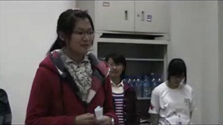 闪亮新主播-2010年度天津医科大学大学生主持人大赛海选现场