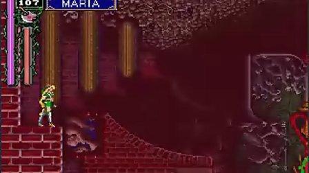 SS版『悪魔城ドラキュラX~月下の夜想曲』マリアは全ボス撃破~高速ノーミスクリア