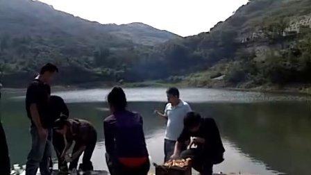 梅山岛网友万圣节烧烤视频1