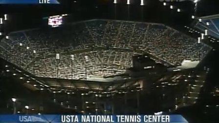 2004美国网球公开赛女单QF 小威廉姆斯VS卡普里亚蒂 (自制HL)
