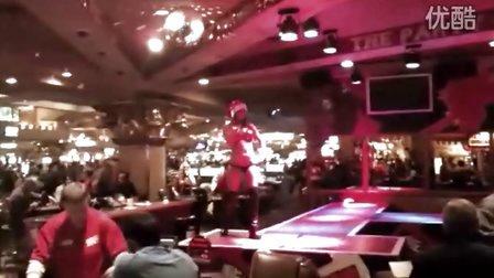 拉斯维加斯加勒比酒店艳舞表演