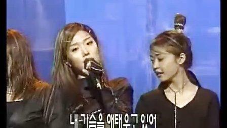 韩国元祖偶像组合:Fin.K.L(李孝利)-假面的时间 (超经典黑衣现场版 000122)
