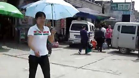 渠县火车站  拉客现象