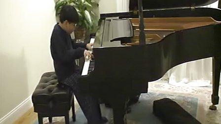 黎卓宇弹奏肖邦的作品10。第二号练习曲