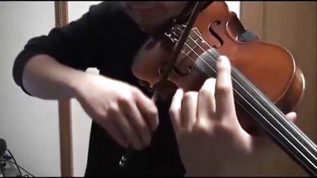 给力大叔小提琴演奏FF13 [閃光]