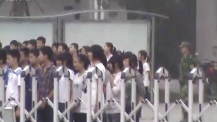 【拍客】 实拍新生入学军训场面