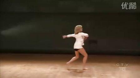 现代舞女子单人舒情版