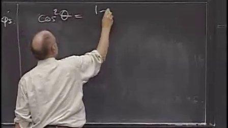 [单变量微积分:三角代换].Lecture.27