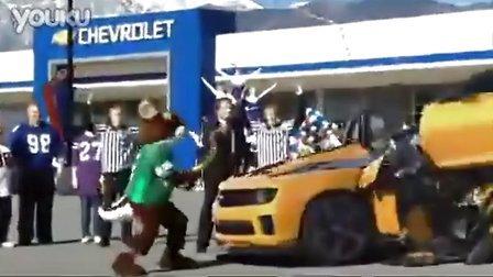 别惹大黄蜂!!雪佛兰汽车广告