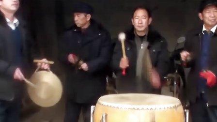 欢庆的锣鼓敲起来,杠杠滴—山东广饶县大桓台村锣鼓表演