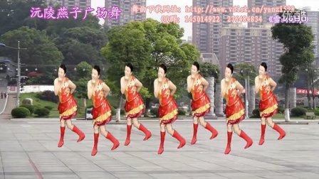 沅陵燕子广场舞《雪山姑娘》(附背面演示)