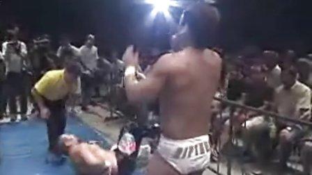 2010.08.29 全日本摔角 kAZ Hayashi vs Jimmy Yang (世界Jr)