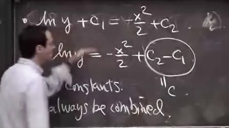 [单变量微积分:微分方程和分离变量].Lecture.16