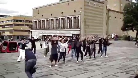 2010.08.29 纪念MJ生日快闪-瑞典(Gothenburg)