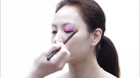 NS造型工作室-晚妆化妆教程 化步骤妆