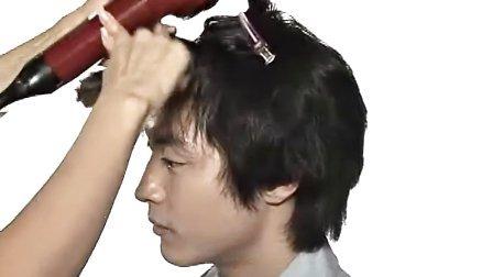 韩国 专业发型 蓬松自然优雅浪漫的男生发型 适合长脸 小脸 各种场合