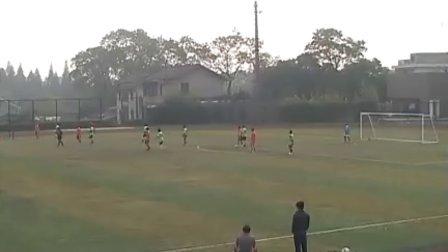 2010益阳市业余足球联赛:风暴(橙)VS绿茵探戈(绿)上半场