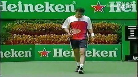 2004澳大利亚网球公开赛男单决赛 费德勒VS萨芬 HL