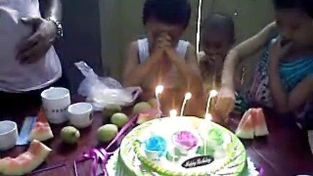 乐乐五岁生日