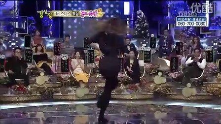 「韩国综艺」F(x)宋茜 - 爵士芭蕾舞Show(2010.12.21)