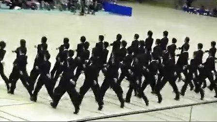 日本人走队列Japanese Precision