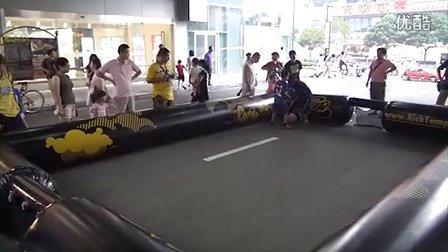 7月14日凯德龙之梦虹口街头足球PK赛无剪辑记录2