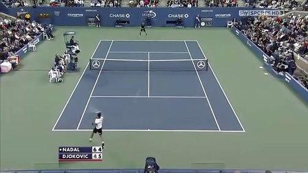 2010美国网球公开赛男单决赛 纳达尔VS德约科维奇 HL
