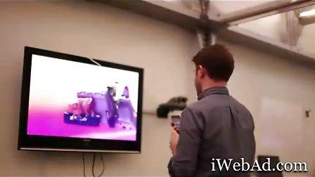 Honda本田汽车电视互动广告