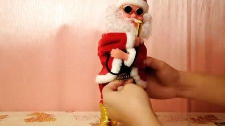 唱歌音乐电动圣诞老人