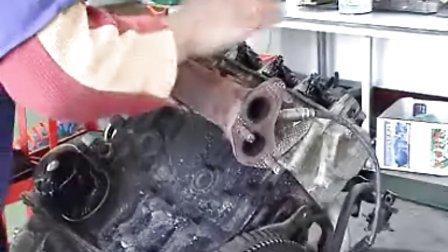通用五菱发动机的拆解