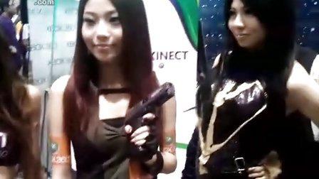 香港动漫节上的美女!