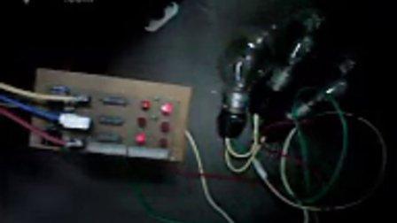 变频空调用灯泡做假负载替代压缩机,测试视频