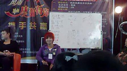 2010年11月蒋政老师色彩风暴课程7 蒋政染发调配方法和多段发色