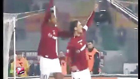 属于罗马之子的荣耀 托蒂意甲201球全纪录