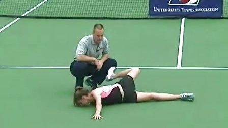 网球热身必备练习 - 蝎动
